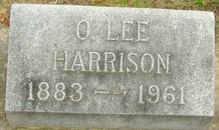 HARRISON, O LEE - Montgomery County, Ohio | O LEE HARRISON - Ohio Gravestone Photos