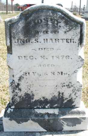 HARTER, JOSEY - Montgomery County, Ohio | JOSEY HARTER - Ohio Gravestone Photos