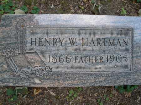HARTMAN, HENRY W. - Montgomery County, Ohio | HENRY W. HARTMAN - Ohio Gravestone Photos