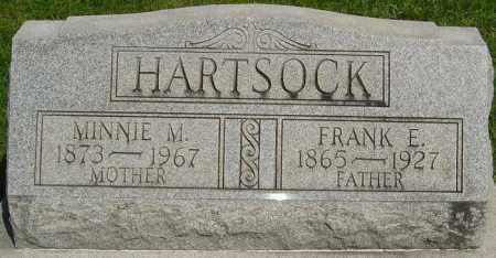 HARTSOCK, MINNIE M - Montgomery County, Ohio | MINNIE M HARTSOCK - Ohio Gravestone Photos