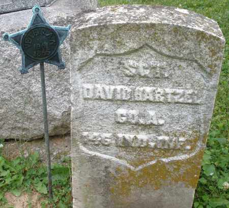 HARTZEL, DAVID - Montgomery County, Ohio | DAVID HARTZEL - Ohio Gravestone Photos