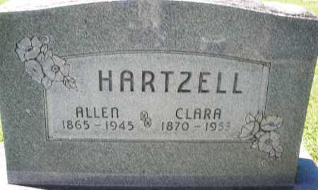 HARTZELL, ALLEN - Montgomery County, Ohio | ALLEN HARTZELL - Ohio Gravestone Photos