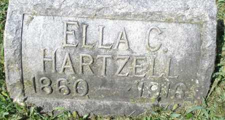 HARTZELL, ELLA C. - Montgomery County, Ohio | ELLA C. HARTZELL - Ohio Gravestone Photos