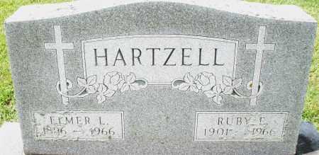 HARTZELL, RUBY E. - Montgomery County, Ohio | RUBY E. HARTZELL - Ohio Gravestone Photos