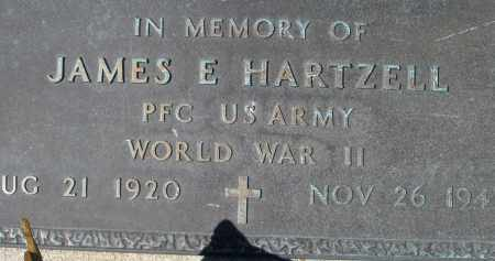 HARTZELL, JAMES E. - Montgomery County, Ohio | JAMES E. HARTZELL - Ohio Gravestone Photos