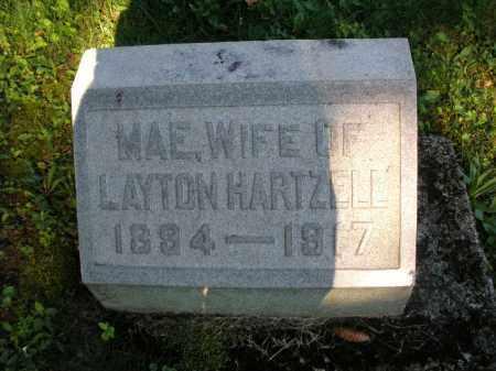 HARTZELL, MAE - Montgomery County, Ohio | MAE HARTZELL - Ohio Gravestone Photos