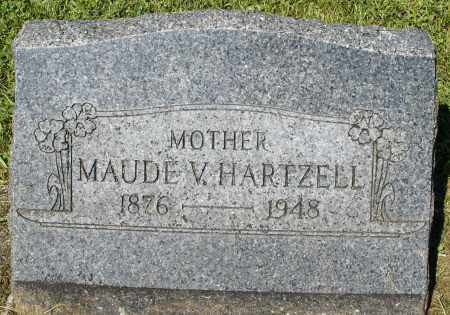 HARTZELL, MAUDE V. - Montgomery County, Ohio | MAUDE V. HARTZELL - Ohio Gravestone Photos