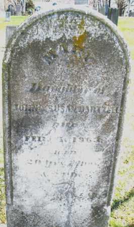 HARTZELL, MARY - Montgomery County, Ohio | MARY HARTZELL - Ohio Gravestone Photos