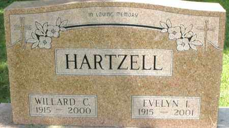 HARTZELL, EVELYN I. - Montgomery County, Ohio | EVELYN I. HARTZELL - Ohio Gravestone Photos
