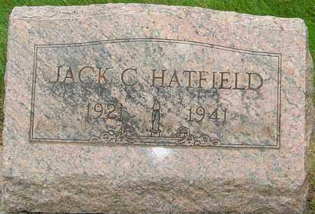 HATFIELD, JACK CHANDLER - Montgomery County, Ohio | JACK CHANDLER HATFIELD - Ohio Gravestone Photos