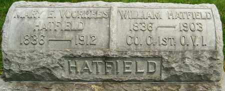 HATFIELD, WILLIAM - Montgomery County, Ohio | WILLIAM HATFIELD - Ohio Gravestone Photos