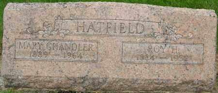 CHANDLER HATFIELD, MARY - Montgomery County, Ohio | MARY CHANDLER HATFIELD - Ohio Gravestone Photos