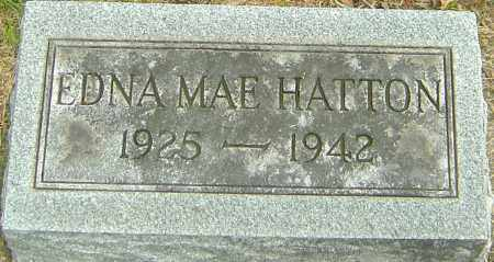 HATTON, EDNA MAE - Montgomery County, Ohio | EDNA MAE HATTON - Ohio Gravestone Photos