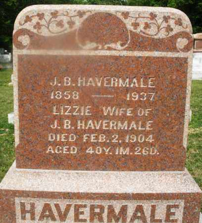 HAVERMALE, LIZZIE - Montgomery County, Ohio | LIZZIE HAVERMALE - Ohio Gravestone Photos