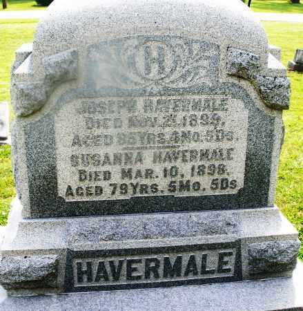 HAVERMALE, SUSANNA - Montgomery County, Ohio | SUSANNA HAVERMALE - Ohio Gravestone Photos