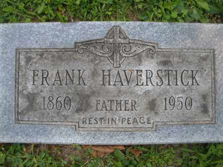 HAVERSTICK, FRANK - Montgomery County, Ohio | FRANK HAVERSTICK - Ohio Gravestone Photos