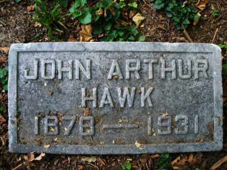 HAWK, JOHN ARTHUR - Montgomery County, Ohio | JOHN ARTHUR HAWK - Ohio Gravestone Photos