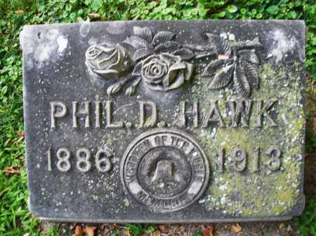 HAWK, PHILIP D. - Montgomery County, Ohio | PHILIP D. HAWK - Ohio Gravestone Photos