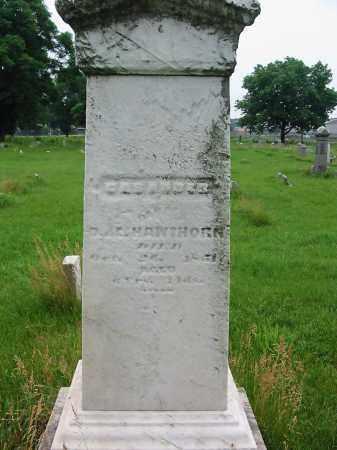 HAWTHORN, CASANDER - Montgomery County, Ohio | CASANDER HAWTHORN - Ohio Gravestone Photos