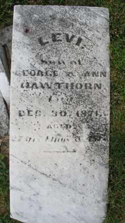 HAWTHORN, LEVI - Montgomery County, Ohio | LEVI HAWTHORN - Ohio Gravestone Photos