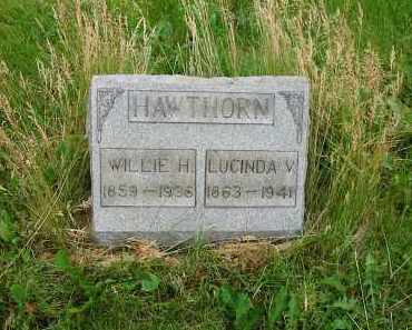 HAWTHORN, WILLIE H. - Montgomery County, Ohio | WILLIE H. HAWTHORN - Ohio Gravestone Photos