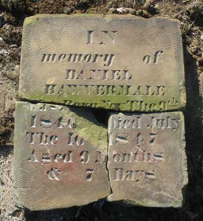 HAWVERMALE, DANIEL - Montgomery County, Ohio | DANIEL HAWVERMALE - Ohio Gravestone Photos
