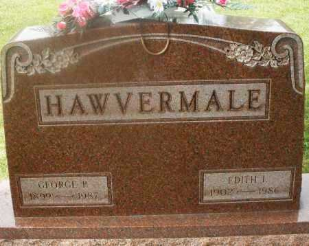 HAWVERMALE, GEORGE P. - Montgomery County, Ohio | GEORGE P. HAWVERMALE - Ohio Gravestone Photos
