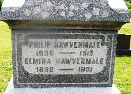 HAWVERMALE, ELMIRA - Montgomery County, Ohio | ELMIRA HAWVERMALE - Ohio Gravestone Photos