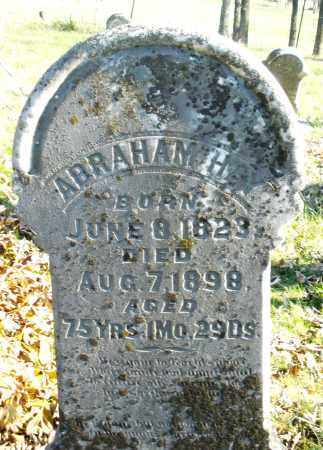 HAY, ABRAHAM - Montgomery County, Ohio   ABRAHAM HAY - Ohio Gravestone Photos
