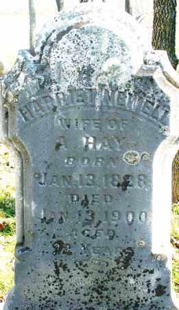 HAY, HARRIET NEWELL - Montgomery County, Ohio | HARRIET NEWELL HAY - Ohio Gravestone Photos