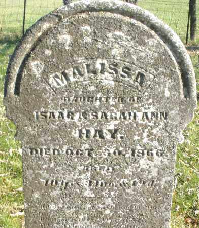 HAY, MALISSA - Montgomery County, Ohio | MALISSA HAY - Ohio Gravestone Photos