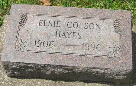 HAYES, ELSIE - Montgomery County, Ohio | ELSIE HAYES - Ohio Gravestone Photos