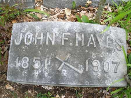 HAYES, JOHN F. - Montgomery County, Ohio | JOHN F. HAYES - Ohio Gravestone Photos