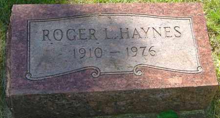 HAYNES, ROGER L - Montgomery County, Ohio | ROGER L HAYNES - Ohio Gravestone Photos