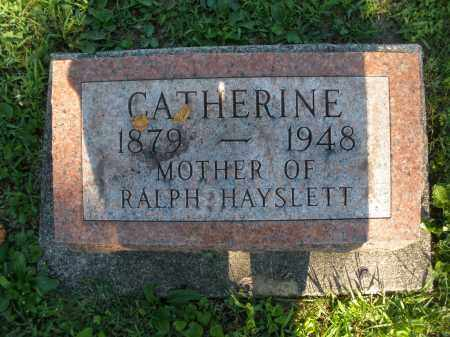 HAYSLETT, CATHERINE - Montgomery County, Ohio | CATHERINE HAYSLETT - Ohio Gravestone Photos