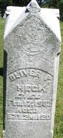 HECK, OLIVER P. - Montgomery County, Ohio | OLIVER P. HECK - Ohio Gravestone Photos