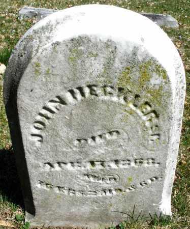 HECKLER, JOHN SR. - Montgomery County, Ohio | JOHN SR. HECKLER - Ohio Gravestone Photos