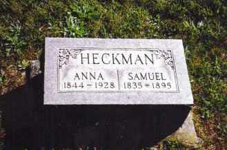 HECKMAN, SAMUEL - Montgomery County, Ohio | SAMUEL HECKMAN - Ohio Gravestone Photos