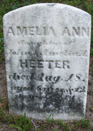 HEETER, AMELIA ANN - Montgomery County, Ohio | AMELIA ANN HEETER - Ohio Gravestone Photos