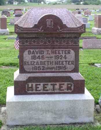 HEETER, ELIZABETH - Montgomery County, Ohio | ELIZABETH HEETER - Ohio Gravestone Photos