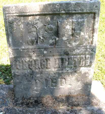 HEETER, GEORGE - Montgomery County, Ohio | GEORGE HEETER - Ohio Gravestone Photos