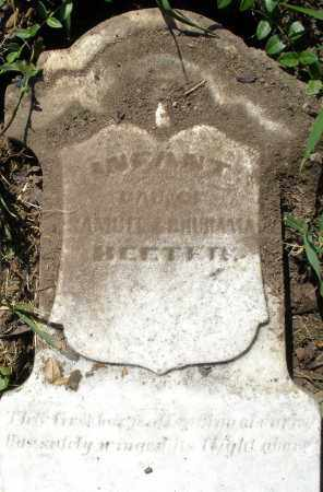HEETER, INFANT DAUGHTER - Montgomery County, Ohio   INFANT DAUGHTER HEETER - Ohio Gravestone Photos