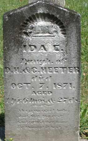 HEETER, IDA E. - Montgomery County, Ohio | IDA E. HEETER - Ohio Gravestone Photos