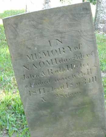 HEETER, NAOMI - Montgomery County, Ohio | NAOMI HEETER - Ohio Gravestone Photos