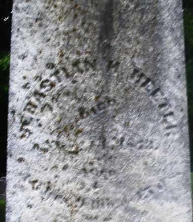 HEETER, SEBASTIAN H. - Montgomery County, Ohio | SEBASTIAN H. HEETER - Ohio Gravestone Photos