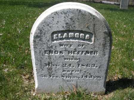 HEFFNER, ELANORA - Montgomery County, Ohio | ELANORA HEFFNER - Ohio Gravestone Photos