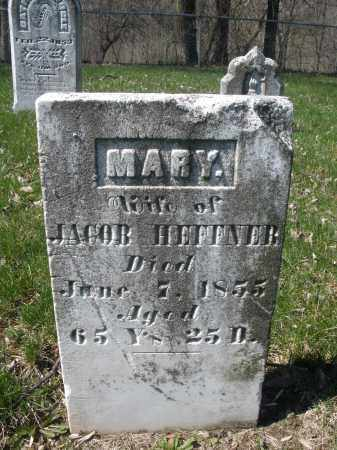 HEFFNER, MARY - Montgomery County, Ohio | MARY HEFFNER - Ohio Gravestone Photos