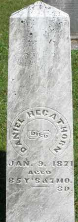 HEGATHORN, DANIEL - Montgomery County, Ohio | DANIEL HEGATHORN - Ohio Gravestone Photos