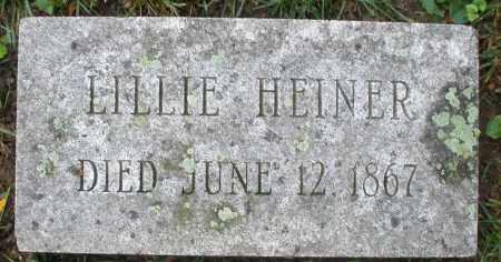 HEINER, LILLIE - Montgomery County, Ohio | LILLIE HEINER - Ohio Gravestone Photos