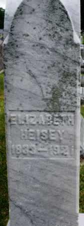 HEISEY, ELIZABETH - Montgomery County, Ohio | ELIZABETH HEISEY - Ohio Gravestone Photos